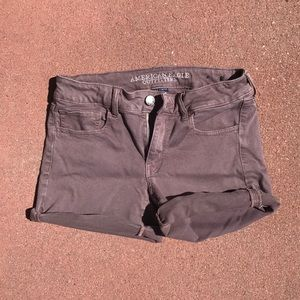 Fabric shorts. Never worn